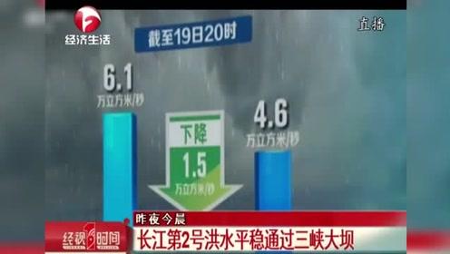 長江第2號洪水平穩通過三峽大壩