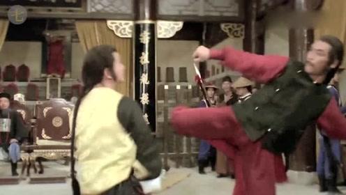 武侠电影腿功集锦,一流的动作设计,真是招招凶狠霸道