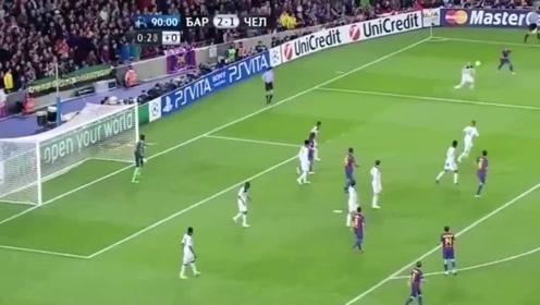 足球:欣赏托雷斯经典长途奔袭,当年欧冠绝杀巴萨,让梅西埋头失落