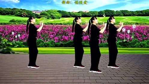 DJ网红舞曲《慢慢爱》时尚动感,新颖好看又好学