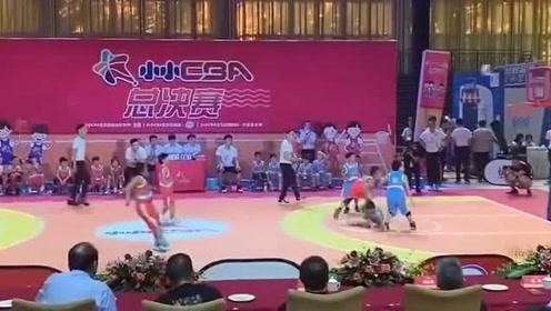 小小CBA上演绝杀与反绝杀!中国篮球的未来在这里