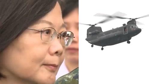 台北出动大量装甲车和战机,让市民慌了,原来是为了保护她!
