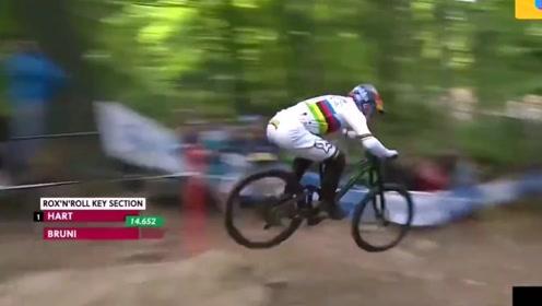 山地自行车极限比赛,随便一个都是大神