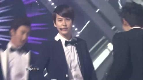 Super Junior《SPY》音乐银行表演舞台现场版120810