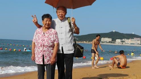 带着老伴去山东半岛旅游《健康快乐每一天》