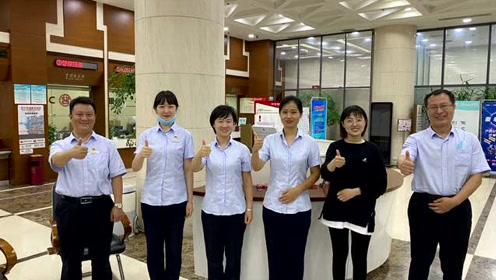 武清高科技园区支行 青年文明号展示月视频材料