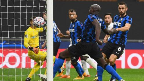 国米成欧冠首轮唯一不胜意甲球队!卢卡库梅开二度,国米2-2门兴
