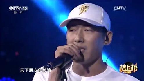 一首《梦回唐朝》,汪峰听了都坐不住,唱的太有味道了!