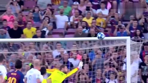 欧冠:巴萨4-0横扫埃因霍温;梅西戴帽小登贝莱世界波