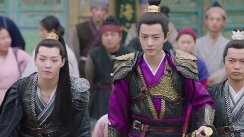 皇帝跟宸王比赛,露思在旁边做鬼脸,真逗
