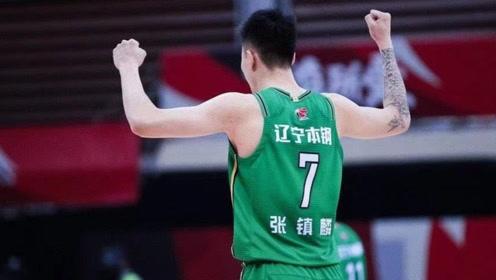 CBA球星集锦:张镇麟17分8篮板,三度暴扣奉献视觉盛宴