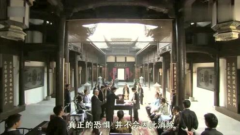 电影再现30年代上海两大帮会街头火并片段,手持利刃互砍!