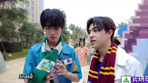 BTS: Patrick-Chen Ruifeng talking about Harry Potter   CHUANG 2021