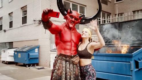 美国搞笑创意广告:恶魔撒旦在线求配对,居然