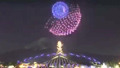东京奥运会开幕典礼烟花