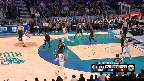 【得分】沃克连线字母哥  接球就投飞身上篮