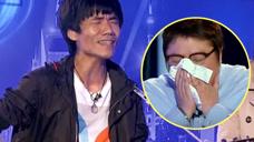 流浪歌手一首《父亲》唱的韩红失控,哭到失态