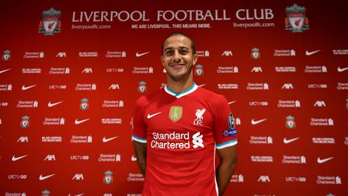 利物浦官宣蒂亚戈加盟!身披6号球衣签约4年