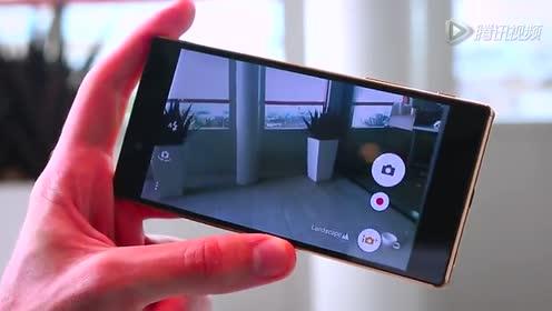 全球首款4K屏 索尼Xperia Z5 Premium试玩