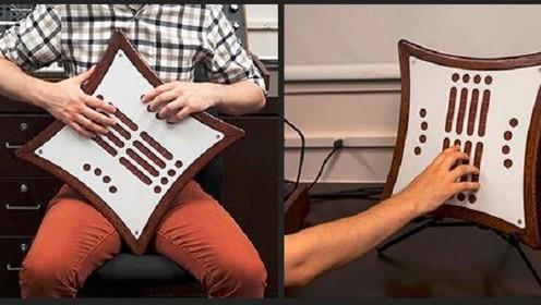 老外发明了一个电子乐器 可以发出无限的声音