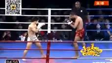 中美拳王大决战 杨建平闪电KO达席尔瓦