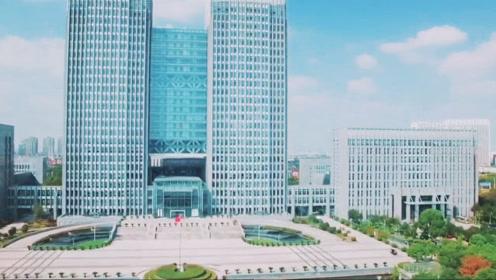 航拍达人拍32秒太仓城市宣传片 政务中心沙溪镇