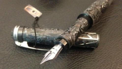 售价70万的钢笔,结构复杂的像辆车,中国仅有一支在他手里?