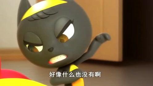 迷你特工队:秀智抱来的小黑猫是间谍啊