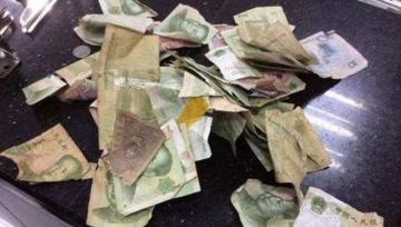 银行回收的破旧?#22870;?#21435;哪了?看完后: 难怪电费贵!