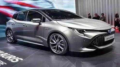 2019最新款丰田卡罗拉登场!油耗低至3毛,还是国六标准!图片