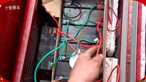 电动车加电瓶,不换控制器不换充电器,附加电瓶原理你知道吗?
