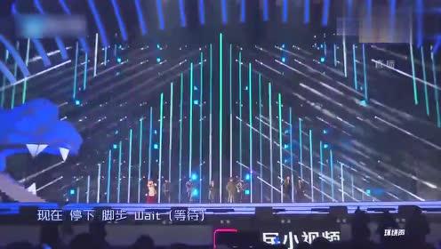 演唱会:乐华七子演绎这首歌,音乐一响带动全