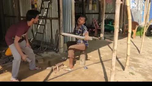 国外搞笑视频,印度人恶搞,开心一刻