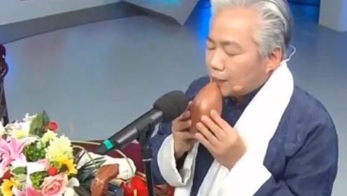 """国乐四大天王方锦龙现场科普传统民族乐器,""""篪""""你听过吗?好听"""