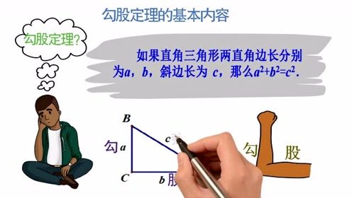 新人教版八年级数学下册17.1 勾股定理