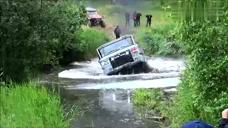 【视频】牛逼的越野车,你确定不是来搞笑的吗?