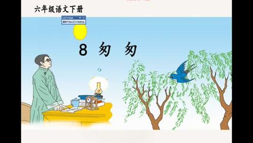 六年级语文下册8 匆匆