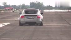 1000马力的奥迪TT和奥迪RS6比提速