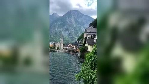 奥地利童话小镇——哈尔施塔特  全球热门搜罗的微博视频