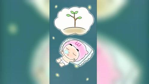 宝宝睡觉,大多数时间再长身体,能睡是好事!