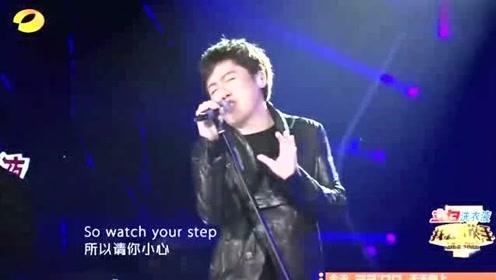 张宇终于对摇滚下手,大喊一声:这才是我的本性,这场面帅炸了