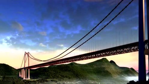 世界难度最高国内首次山区建造的世界级桥梁——贵州坝陵河大桥建造过程视频(投资14.8亿元),贵州高桥科普学习必看视频#解答孩子们的小问号#
