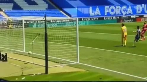 武磊西甲复赛单刀破门,这球进太漂亮了!