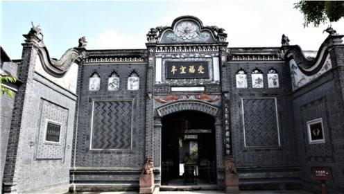 """""""恶霸地主""""刘文彩庄园,如今成旅游景点,图8龙床极其奢华"""