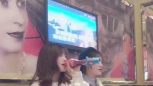 在KTV找的美女陪唱,当她一开口,网友:现在陪唱都是音乐系毕业的?