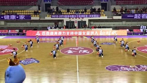 育华篮球参加WCBA动感篮球