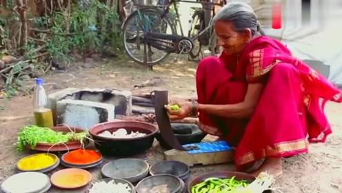 印度美食:八条可爱小鲨鱼,老**一出手变美味可口鲨鱼手抓饭!