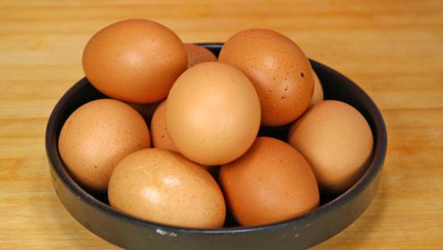 这才是卤鸡蛋最健康的做法,不放任何香料,味道浓郁,简单易学!