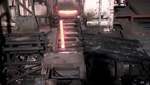 螺纹钢是如何制造的,这个视频解开我的疑惑!