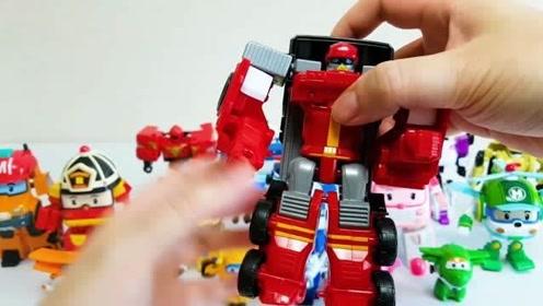 托宝小汽车玩具变形成机器人